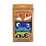 Zoocchini Set di 3Boxer per ragazzo arancione 2–3anni