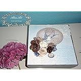 Fotoalbum als Geschenk- Box Shabby BIRDY