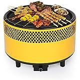 Barbacoa de mesa de carbón de bois-kbabe ®, amarillo