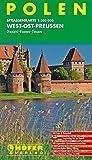 Höfer Straßenkarten, Polen, West-Ost-Preußen