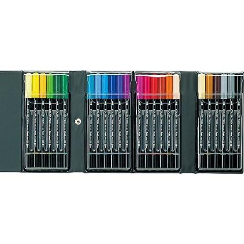 Pentel twin color pen 24 colors set SCW-24 (japan import)
