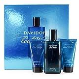 Davidoff Cool Water Homme Set Pflege (Eau de Toilette + Shower Gel + After Shave Balm), 1er Pack (1 x 1 Stück)