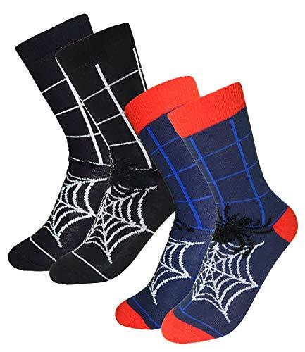 EveryKid Ewers 2er Pack Jungensocken Sparpack Markensocken Socken Strümpfe Kleinkind ganzjährig für Kinder (EW-201111-W18-JU3-1121-1988-31/34) in Tinte-Schwarz, Größe 31/34 inkl ()