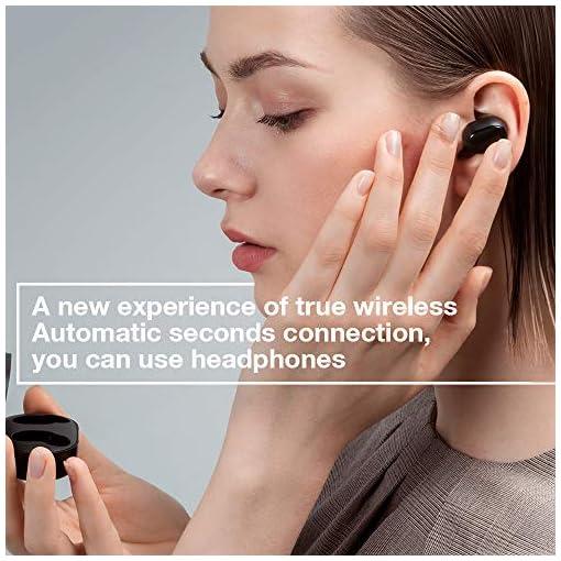 Xiaomi Mi Airdots TWS Auricolari Bluetooth 5.0, Cuffie Wireless True Sound Stereo, Mic Controll AI