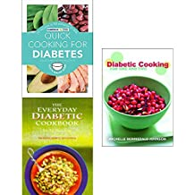 Quick cooking for diabetes, everyday diabetic cookbook and diabetic cooking 3 books collection set
