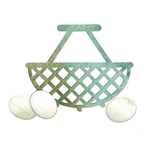 Sizzix Bigz Die Eierkorb Egg & Wire Basket Stanzschablone