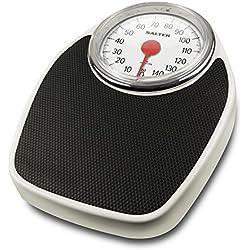 Salter 195 WHKR Mechanical personal scale Negro, Color blanco - Báscula de baño (Analógico, Negro, Color blanco, 1 pieza(s))