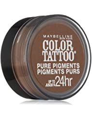 MAYBELLINE COLOR TATTOO PURE PIGMENTS EYE SHADOW #45 DOWNTOWN BROWN