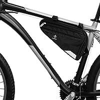 Bolsa para Cuadro de Bicicleta Prémium I Bolsa Espaciosa para Bici de Hombre y Mujer I Bolsa Triangular Impermeable con Sensor Reflectante (L)