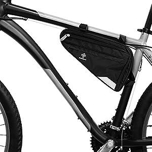 51G48UoynTL. SS300 TraFellows Borsa per Bici da Telaio o da Sella I Spaziosa Borsa Triangolare da Telaio Bici Uomo o Donna I Borsa…
