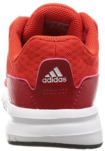 Adidas Galaxy 3 K, Scarpe da bambini, unisex Rosso (Rojbas/Rojbas/Escarl)