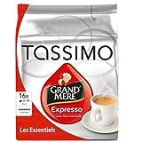 Tassimo Grand Mere Expresso, Espresso, Kräftig, Kaffee, Kaffeekapsel, gemahlener Röstkaffee, 16 T-Discs