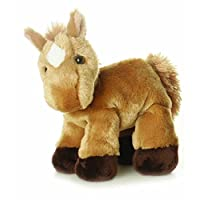 AURORA 13298 Mini Flopsie 8-inch Brown Horse