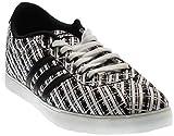 adidas Neo Courtset W Sneaker, Schwarz/Silber/Methodiniert/Blau, 5 m