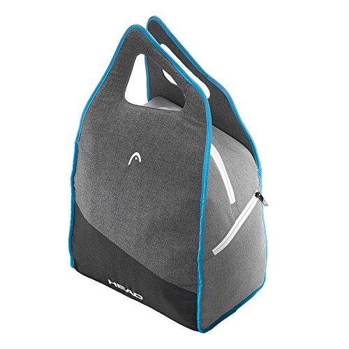 Head borsa porta scarponi da sci da donna, colore: antracite/grigio/blu, taglia unica