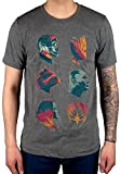 Official Guardians of The Galaxy Volume 2 Heads T-Shirt