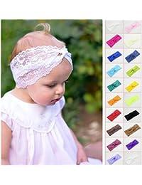 Bandeau Twist en dentelle, couleur au choix