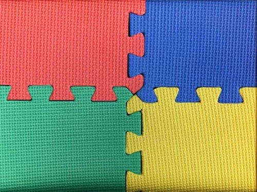 4 x puzzlematten steckmatten bodenmatten sportmatten spielteppich unterlegmatten. Black Bedroom Furniture Sets. Home Design Ideas