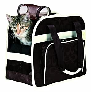 Trixie 36421 'Alisha' Bag Pet Carrier Nylon 20 ラ 32 ラ 29 cm Coffee / Cream