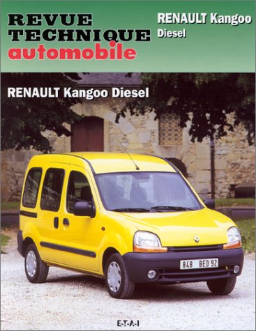 Revue technique automobile, n° 610 : Renault Kangoo Diesel Moteur - Moteur 1.9 injection indirecte