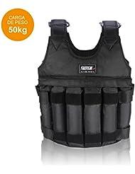 Fdit ajustable Peso West gewichtete Chaleco/Chaquetas Ejercicios Entrenamiento Chaleco carga máxima 20 kg/