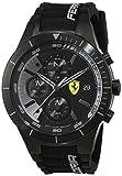 Scuderia Ferrari Orologi Herren-Armbanduhr Red Rev Evo Analog Quarz Silikon