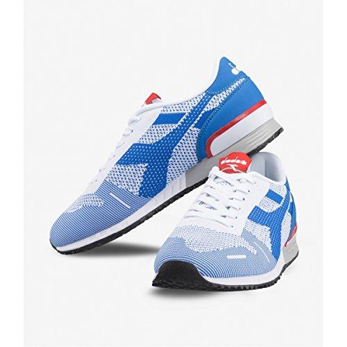 Bassa Blu Titanio Sneaker Unisex Diadora Tessuto Rxw0qTnO