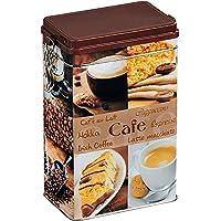 Kesper Aufbewahrungsdose, Metalldose, Küchendose, für Kaffee, eckig, aus Metall, Maße: 118 x 77 x 119 mm, sortiert