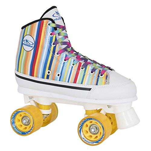 HUDORA Rollschuhe Roller-Skates Candy Stripes, Disco-Ro… | 04005998133033