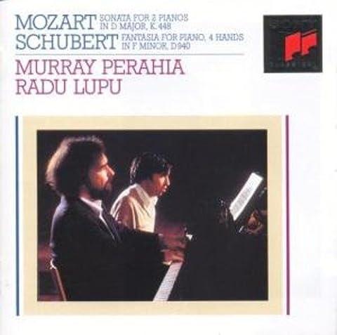 Mozart: Sonata for 2 Pianos in D major / Schubert: Fantasia for Piano, 4 hands in F minor