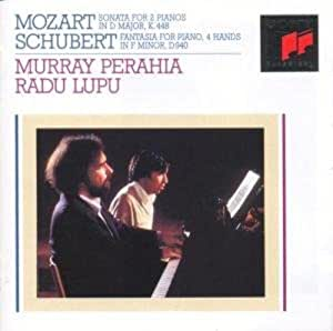 Mozart: Sonata for 2 Pianos in D major / Schubert: Fantasia for Piano, 4 hands in F minor