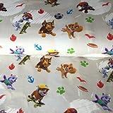 Jersey Stoff–Paw Patrol Jersey–hem18–Schneidern & Kinder Kleidung Stoff–95% Baumwolle 5% Elasthan–von 0,5m 50cm x 150cm