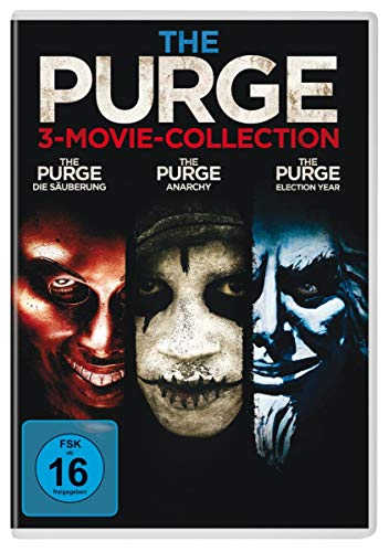 The Purge - Trilogy [3 DVDs]