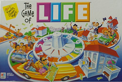 The Game of Life Vintage 2002 by Milton Bradley