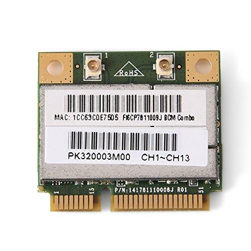 Richer-R WIFI Karte, 150 Mbit/s Mini Bluetooth WIFI 2in1 PCI-E Karte,802.11 B/G/N WLAN Adapter Karte,für Intel/ATI/AMD PCI-E AGP Karte Computer (Agp-pcie)