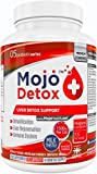 MOJO™ DETOX – Detox du Foie | Cure de 4 mois | Purification à base de plantes | Alcool, drogue, vésicule biliaire, constipation, ballonnements | 1500mg Chardon Marie | GARANTIE DE SATISFACTION