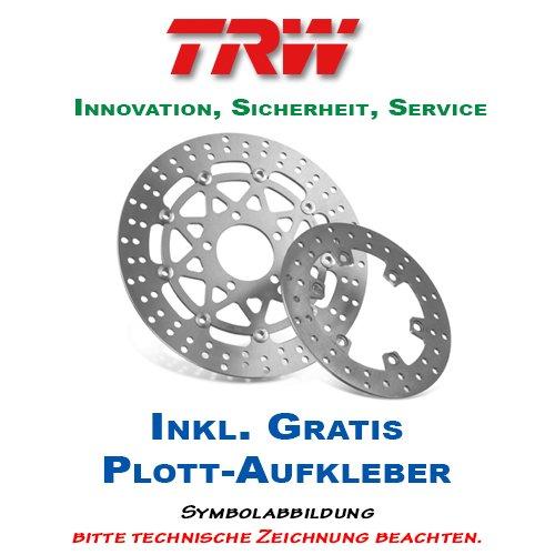Preisvergleich Produktbild Lucas / TRW Bremsscheibe HINTEN BMW R 850 GS 1998-2000