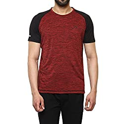 Proline Mens Solid Regular Fit Active Base Layer Shirt (PA025_Rdsd_Medium)