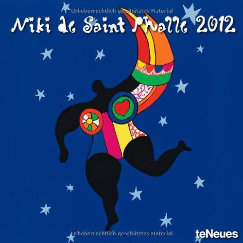 2012 Niki de Saint Phalle Grid Calendar par teNeues