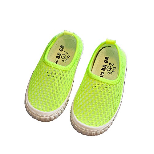 E Support™ Kind Sommer Freizeitschuhe Atmungsaktives Sportschuhe Weichen Boden Rutschfeste Mesh Schuhe Laufschuhe Sandalen Sneaker Aquaschuhe Badeschuhe Beachschuhe Outdoor Schuhe Walkingschuhe Grün