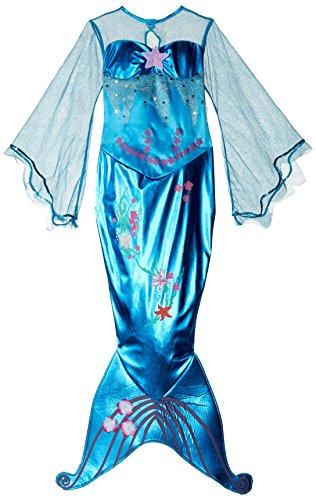 (Rubie's 2 882718 M - Kinder Kostüm Magische Meerjungfrau  Nixe blau Gr. M (5-6 J.))