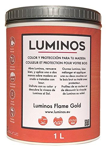 Luminos lum1111-Lasur (Holz) Farbe Flame Gold