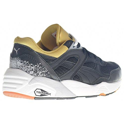 Puma Trinomic R698 sport Sneaker women Trainers 357331 01 white Nero (Nero (nero))