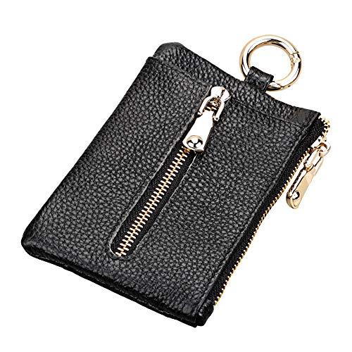 Vi.yo Mini-Schlüsseletui Münztasche für Madchen Damen, 8.5 * 12.5cm, PU + Polyester -