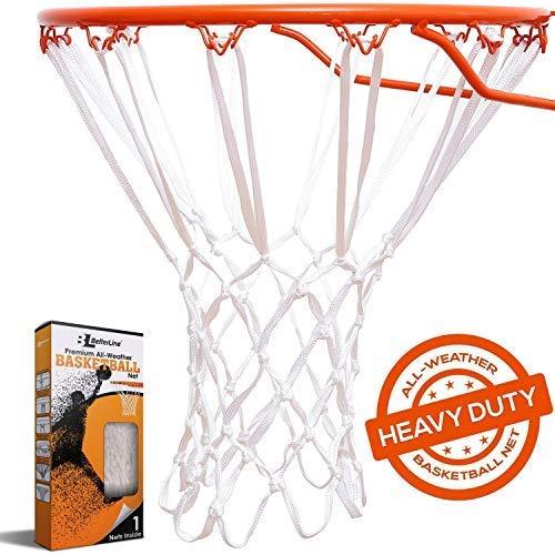 Better Line Rete da basket premium di qualità professionale robusta e per tutte le condizioni atmosferiche