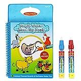 Rangebow Magic Wasser wiederverwendbare Zeichnung Buch und magischen Stift für 3 Jahre plus -Tiere (GC00601)