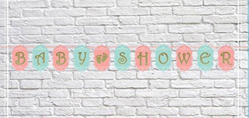 Glitter Baby Shower Banner - 10FT