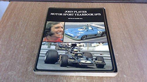 John Player Motor Sport Yearbook 1975