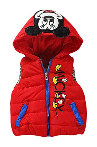 zamot-kids-mickey-mouse-decorations-quilted-contrast-pipe-zipper-vest-with-hood-red-3-yrs