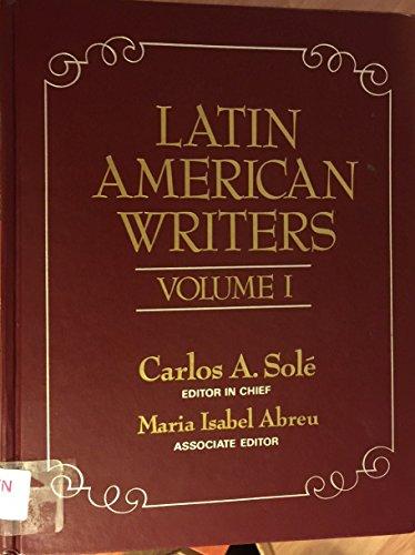 Latin American Writers (Scribner Writers)